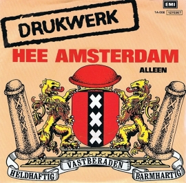 drukwerk hee amsterdam album hoes single 1983