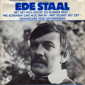 ede staal plaatje single album hoes