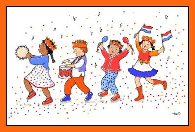 picture children singing dutch children's songs by tineke vlaming