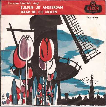 picture record cover herman emmink tulpen uit amsterdam