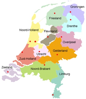 picture the netherlands dutch provinces